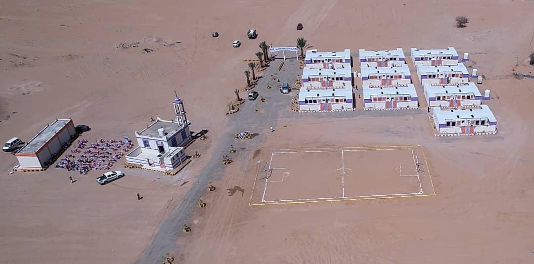 20211014 201145 - بتمويل كويتي.. افتتاح قرية سكنية تضم 40 منزلاً للنازحين بمحافظة «مأرب» اليمنية #العبدلي_نيوز