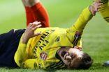 توريرا لاعب وسط أرسنال يغيب عن الملاعب بسبب كسر في الكاحل