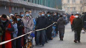 #بكين تبدأ إجراء فحوصات واسعة للكشف عن المصابين ب #كورونا.   #العبدلي_نيوز