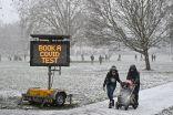 الثلوج تكسو العاصمة البريطانية لندن في مشهدٍ نادر.     #العبدلي_نيوز