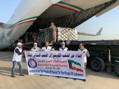 «الهلال الأحمر» تسيّر طائرة مساعدات طبية للشعب اللبناني.   #العبدلي_نيوز