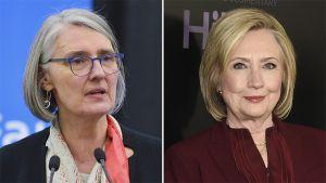 هيلاري كلينتون تُصدر مع الكاتبة لويز بيني رواية تشويق سياسي.    #العبدلي_نيوز
