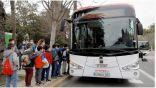 حافلة ذاتية القيادة في شوارع مدينة ملقة الإسبانية.  #العبدلي_نيوز