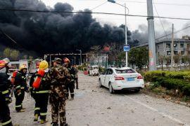 عشرات القتلى والجرحى في انفجار مجمع كيميائي بالصين.    #العبدلي_نيوز