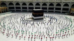 """#السعودية: لقاح """"كورونا"""" شرط رئيسي للمشاركين في الحج.   #العبدلي_نيوز"""