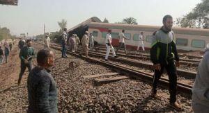#مصر.. خروج قطار عن القضبان في طوخ.. وسقوط أكثر من 100 إصابة.  #العبدلي_نيوز