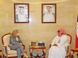 #وزير_الداخلية يبحث مع سفيرة الولايات المتحدة سبل تعزيز التعاون الأمني بين البلدين.  #العبدلي_نيوز