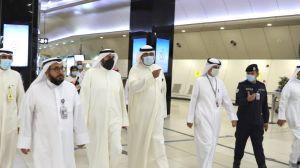 #وزير_الصحة يتفقد الإجراءات الصحية في #مطار_الكويت الدولي.  #العبدلي_نيوز