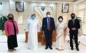 #وكيل_الصحة بحث مع السفير جورج استقدام طواقم طبية وفنية من #الهند.  #العبدلي_نيوز