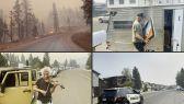 آلاف الأشخاص يخلون منازلهم في منطقة تهددها النيران في كاليفورنيا.   #العبدلي_نيوز
