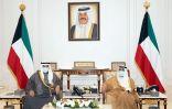 #الأمير وولي العهد استقبلا ناصر المحمد.   #العبدلي_نيوز