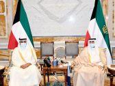 #صاحب_السمو الأمير الشيخ نواف الأحمد يستقبل سمو #رئيس_مجلس_الوزراء.  #العبدلي_نيوز