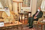 #وزير_الخارجية ونظيره المصري يبحثان العلاقات الثنائية وآخر المستجدات إقليمياً ودولياً.  #العبدلي_نيوز