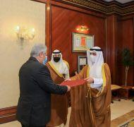 #وزير_الخارجية يتسلم نسخة من أوراق اعتماد السفير المصري لدى البلاد.  #العبدلي_نيوز
