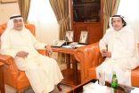 #الصقر يبحث العلاقات بين #الكويت و #إيطاليا مع السفير عزام الصباح.  #العبدلي_نيوز