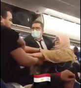 """""""مصر للطيران"""" توضح حقيقة مقطع متداول لمشاجرة عنيفة بين سيدتين على متن إحدى رحلاتها"""