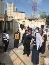 """محافظ العاصمة تابع مستجدات حملة إزالة مخالفات البناء في """"شرق"""""""