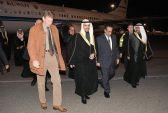 الغانم يصل إلى موسكو في زيارة رسمية