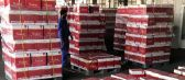 الجمارك تعلن مصادرة 9264 زجاجه مياه غازية «مخالفة» للآداب العامة