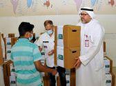 «الهلال الأحمر» توزع 200 حقيبة مدرسية ولوازمها على أبناء أسر محتاجة في الكويت     #العبدلي_نيوز