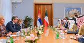 وزير الخارجية بحث مع رئيس جمهورية صربيا سبل تعزيز العلاقات الثنائية وتوطيدها في كافة المجالات.      #العبدلي_نيوز