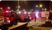فرق «الإطفاء» تسيطر على حريق اندلع في مجمع تجاري قيد الانشاء في «صباح الأحمد» البحرية  #العبدلي_نيوز