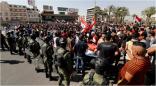 احتجاجات في #العراق على انقطاع #الكهرباء والمياه وسط موجة حر تجاوزت درجاتها الـ50 مئوية               #العبدلي_نيوز