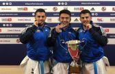 منتخب الكويت الوطني يحقق الميدالية الذهبية فيبطولة باريس المفتوحة «البريمير ليج – كاراتيه1»