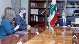 عون يؤكد رغبة #لبنان في نجاح مفاوضات ترسيم الحدود مع إسرائيل    #العبدلي_نيوز
