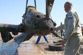 غواصون روس ينتشلون طائرة من البحر غرقت قبل 76 عاماً أثناء الحرب العالمية