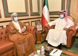 معالي محافظ العاصمة يستقبل السفير العُماني بمناسبة تَسلُمه لمهام منصبه الجديد