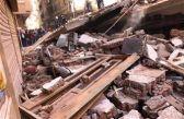 عاش 15 ساعة تحت الأنقاض.. العثور على رضيع حياً أسفل العقار المُنهار بمصر