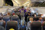 كورونا والطائرة.. دراسة جديدة تبشر