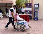 توافد ملحوظ لكبار السن على الاقتراع بالساعات الأولى لـ«تكميلية أمة 2021».        #العبدلي_نيوز