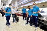 وفد منتخب الكويت لكرة القدم يتوجه إلى دبي لإقامة معسكر تدريبي استعداداً للتصفيات المشتركة.            #العبدلي_نيوز