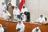 رئيس مجلس الأمة يتلو بياناً بعد الانتهاء من مناقشة قضية الأحداث في فلسطين أكد فيه موقف الكويت من القضية الفلسطينية.       #العبدلي_نيوز