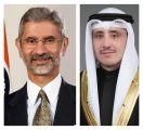 """وزير الخارجية يجدد موقف الكويت إلى جانب الهند لمكافحة جائحة """"كورونا"""".      #العبدلي_نيوز"""