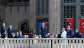 رجب طيب أردوغان: الرئيس التركي يفتتح أول مسجد في ساحة تقسيم في ذكرى انطلاق المظاهرات ضد حكومته.        #العبدلي_نيوز