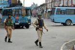 اندلاع مواجهات بين مئات المحتجين والشرطة الهندية في كشمير