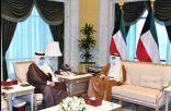 نائب الأمير يستقبل سمو الشيخ جابر المبارك.    #العبدلي_نيوز