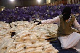 السعودية.. إحباط تهريب أكثر من 20 مليون قرص مخدر بداخل شحنة عنب
