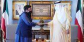 الخالد يتسلم رسالة خطية من رئيس وزراء #باكستان.        #العبدلي_نيوز