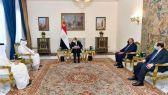 وزير خارجية #قطر: النظام المصري يمثل الشرعية المنتخبة في البلاد ونحترم المؤسسات في الحكومة المصرية.      #العبدلي_نيوز