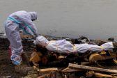 الهند: إلقاء جثث ضحايا كورونا في الأنهار خوفا من الوباء..          #العبدلي_نيوز