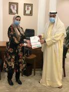 الشيخ فيصل الحمود المالك الصباح يلتقى المدير التنفيذي لمشروع(كفو)