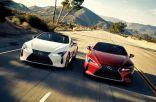 """بألوان جديدة.. """"لكزس"""" تحدث سيارتها LC500 لتحسين راحة الركاب (صور)"""