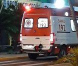 كلب يقفز في سيارة إسعاف ويرافق صاحبه إلى المستشفى (فيديو)