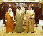 الخالد يستقبل رئيس الإدارة العامة للطيران المدني.        #الكويت.      #العبدلي_نيوز